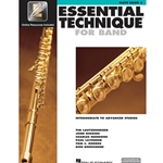Essential Technique for Band Book 3 w/ EEi - Intermediate to Advanced - Flute
