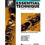 Essential Technique for Band Book 3 w/ EEi - Intermediate to Advanced - Bb Clarint