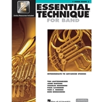 Essential Technique for Band Book 3 w/ EEi - Intermediate to Advanced - F Horn