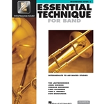 Essential Technique for Band Book 3 w/ EEi - Intermediate to Advanced - Trombone