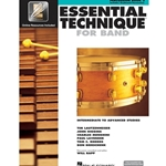Essential Technique for Band Book 3 w/ EEi - Intermediate to Advanced - Percussion
