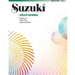 Suzuki Cello School Cello Part, Volume 8: Revised -