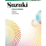 Suzuki Cello School Cello Part, Volume 2: Revised -