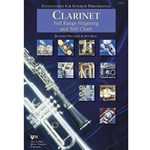 Foundations For Superior Performance Full Range Fingering and Trill Chart - Clarinet -