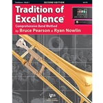Tradition of Excellence Book 1 - Trombone -