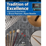 Tradition of Excellence Book 2 - Percussion -