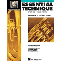 Essential Technique for Band Book 3 w/ EEi - Intermediate to Advanced - Bari T.C.