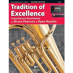 Tradition of Excellence Book 1 - Baritone/Euphonium T.C. -