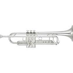 Brass Bell Music Store - Yamaha Silver Trumpet, Model YTR